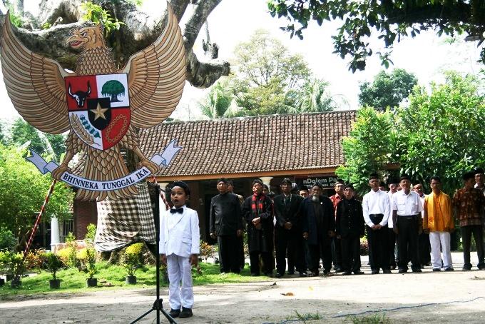 Lintas agama upacara Hari Sumpah Pemuda di Situs Bung Karno