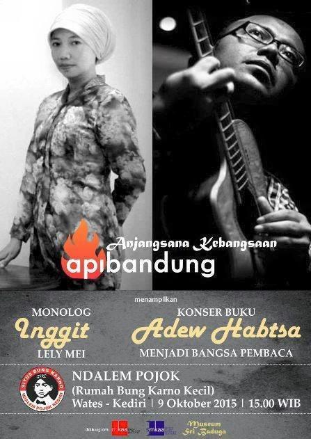 monolog Api Bandung di situs Bung Karno Ndalem Pojok